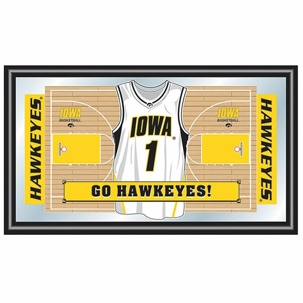 University of Iowa Basketball Framed Graphic Art by Trademark Global