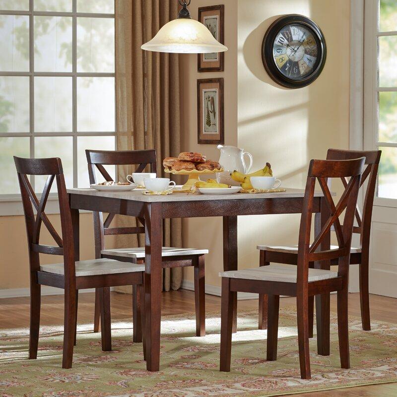 5 Piece Dining Sets tilley rustic 5 piece dining set & reviews | joss & main