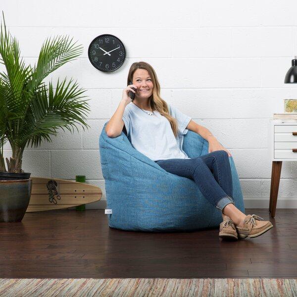 Big Joe Lux Standard Bean Bag Chair & Lounger By Big Joe