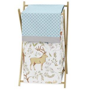 Big Save Woodland Toile Laundry Hamper By Sweet Jojo Designs