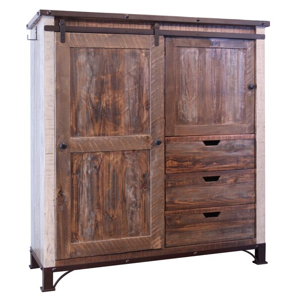 Rivington 3 Drawer Gentlemans Chest by Loon Peak