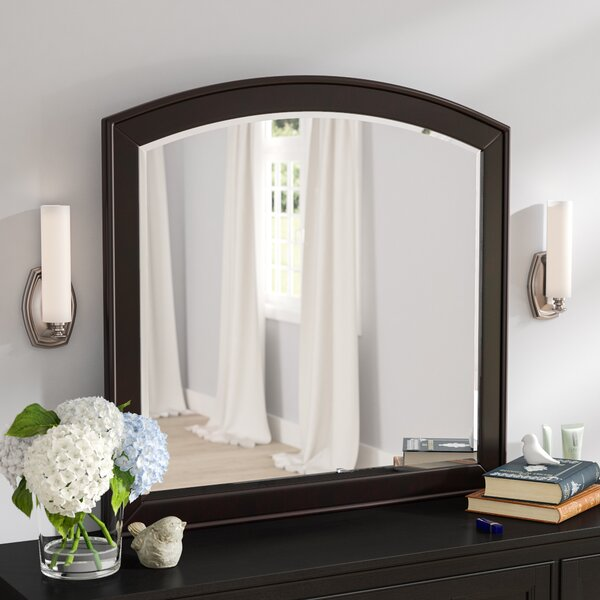 Loveryk Arched Dresser Mirror by Darby Home Co