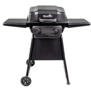 Classic 2-Burner Propane Gas Grill with Side Shelves