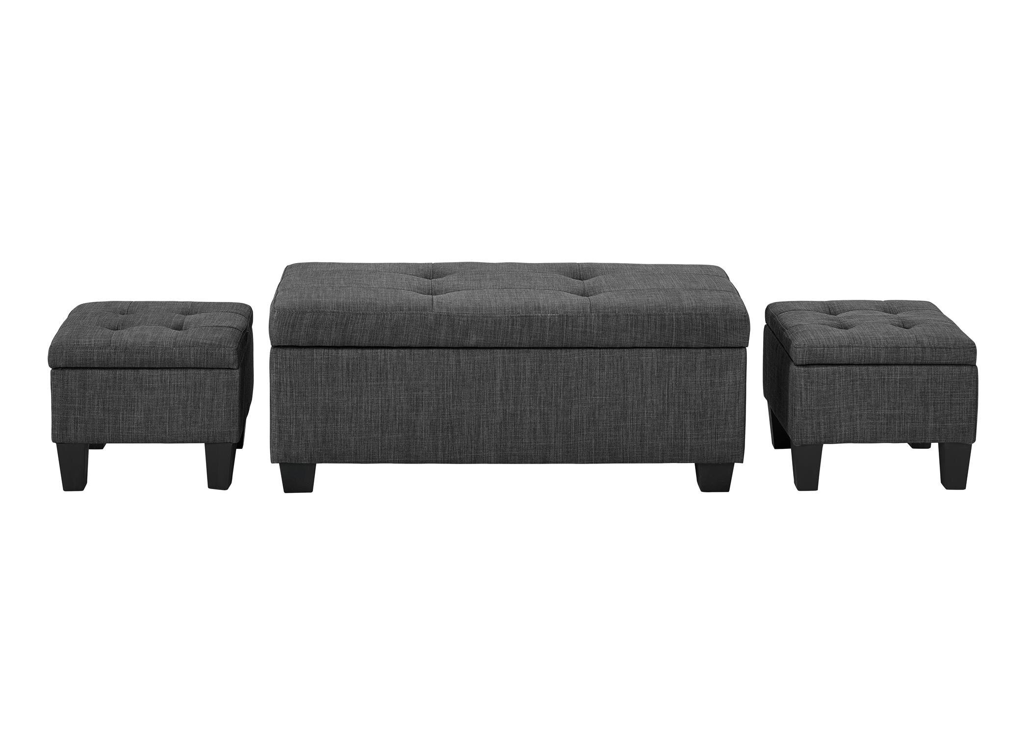 Merveilleux Andover Mills Hirsh 3 Piece Storage Ottoman Set U0026 Reviews | Wayfair