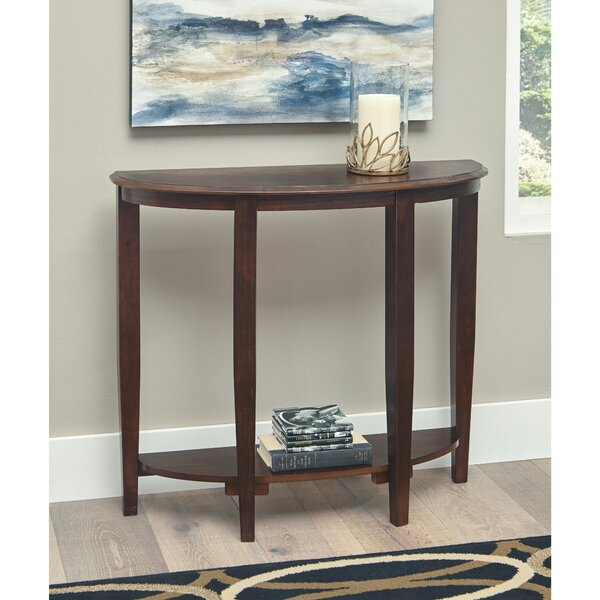 Canora Grey Brown Console Tables