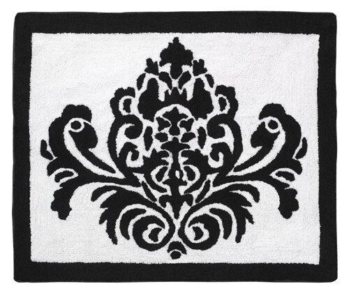Sloane Hand-Tufted Black/White Area Rug by Sweet Jojo Designs