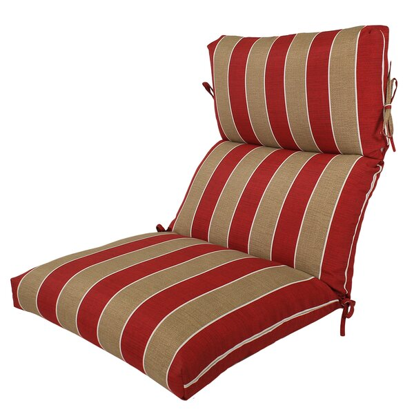 Reversible Indoor/Outdoor Lounge Chair Cushion