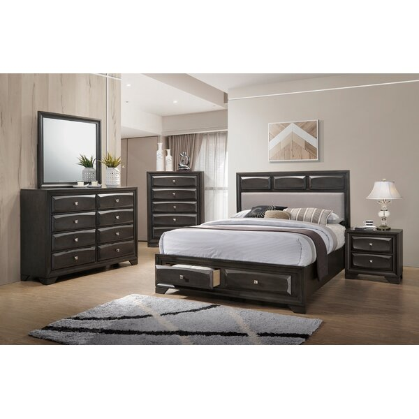 Fink Upholstered Storage Bed by Darby Home Co