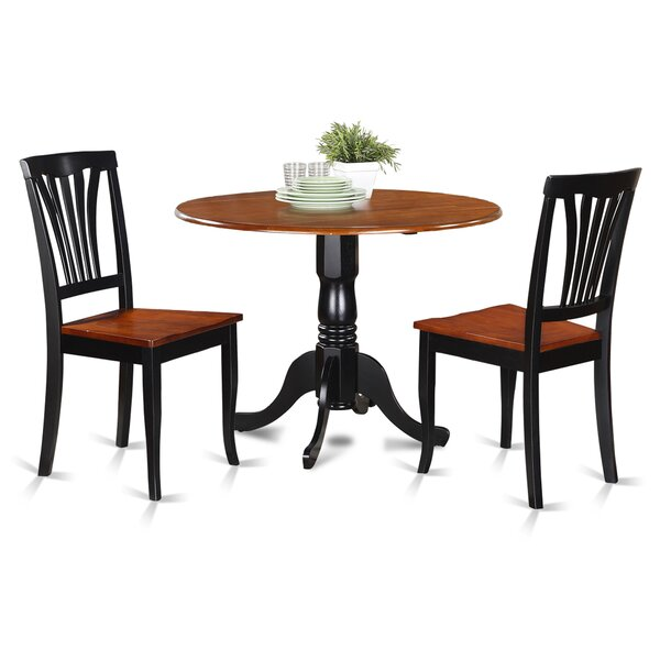 Dublin 3 Piece Dining Set by Wooden Importers