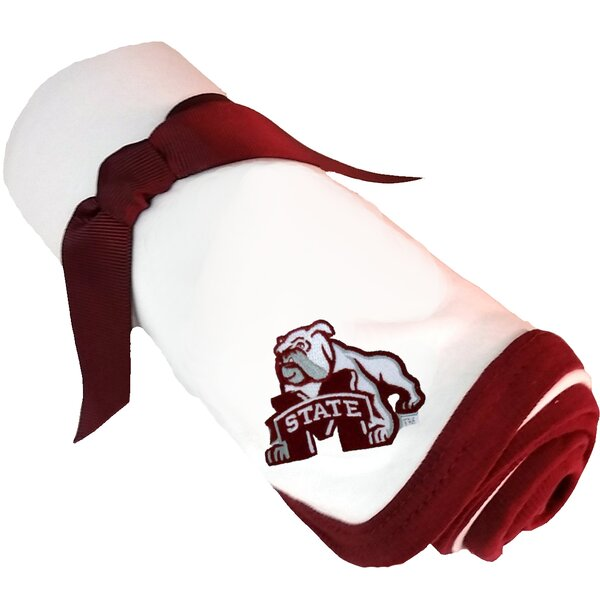 Mississippi State Bulldogs Baby Receiving Blanket by Future Tailgater