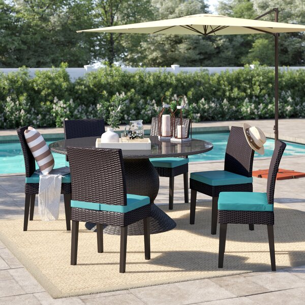 Stratford 7 Piece Dining Set with Cushions by Sol 72 Outdoor