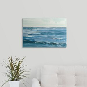 Seascape III by Chris Paschke Painting Print on Wrapped Canvas by Great Big Canvas
