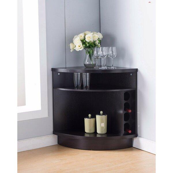 Wallen Space Efficient Stylish Corner Accent Cabinet by Latitude Run