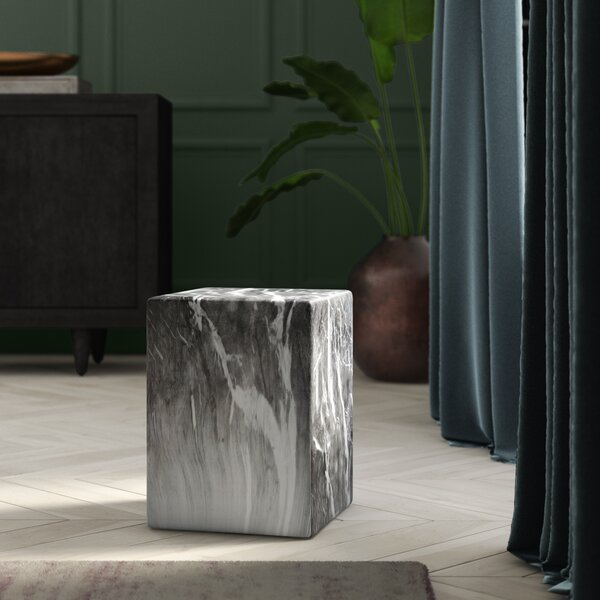 Grubb Ceramic Garden Stool by Wrought Studio