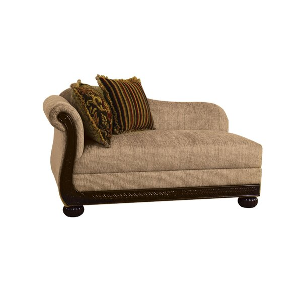 Gosford Left Front Arm Chaise Lounge by Fleur De Lis Living