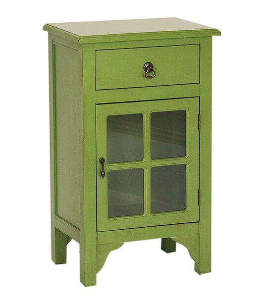 Atchley 1 Drawer Accent Cabinet By Charlton Home®