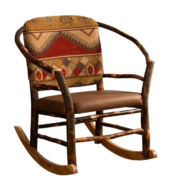 Queens Boulevard Rocking Chair by Loon Peak