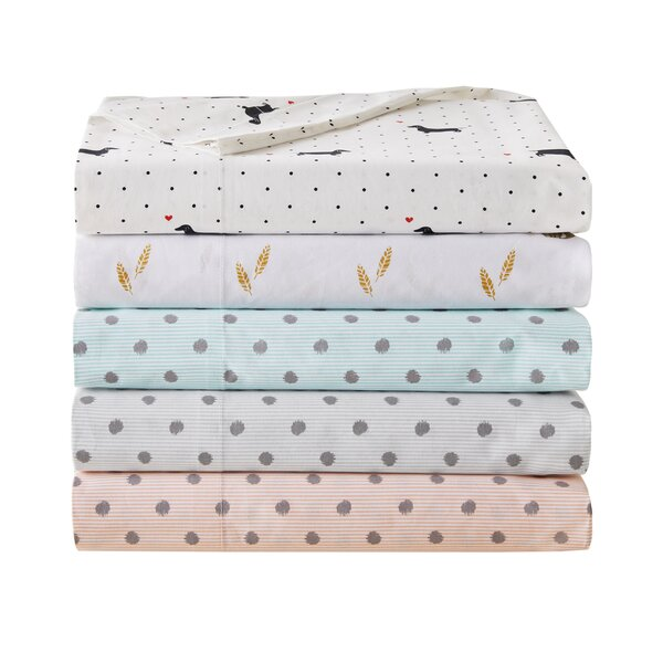 Joines Printed Cotton Sheet Set by Zipcode Design