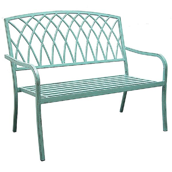 Alvis Aluminum Garden Bench by Ophelia & Co. Ophelia & Co.