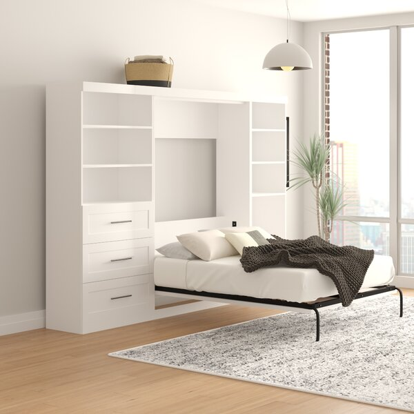 Lucinda Murphy Bed by Beachcrest Home