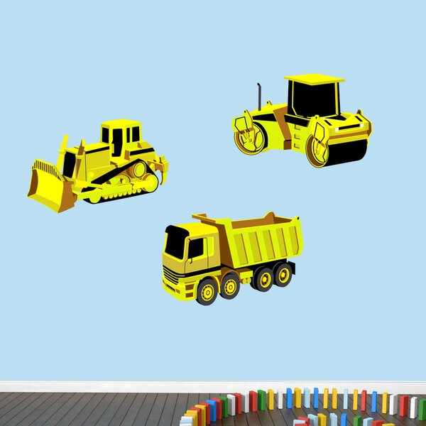 Work Truck Wall Decal by Zoomie Kids
