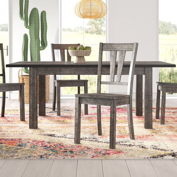 Katarina 5 Piece Extendable Solid Wood Dining Set by Mistana Mistana