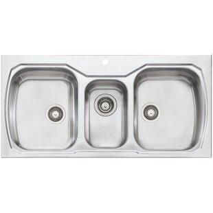 Triple Basin Kitchen Sink - Kitchen Design Ideas