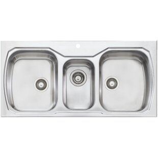save to idea board triple kitchen sinks you u0027ll love   wayfair  rh   wayfair com