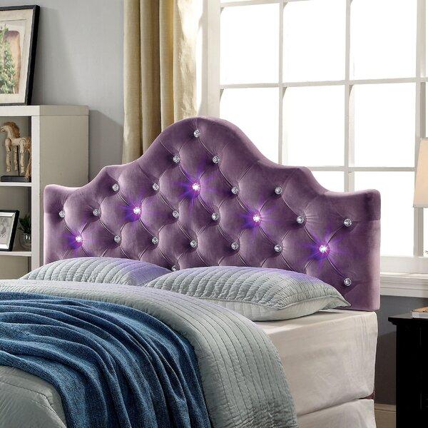 Heffner Contemporary Upholstered Panel Headboard by Brayden Studio