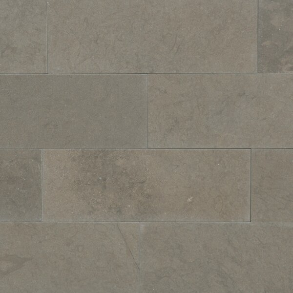 Maes 3 x 8 Limestone Subway Tile in Taupe by The Bella Collection