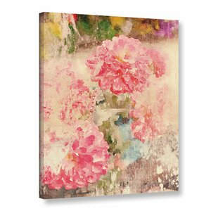 'Summer Melody 2' Print on Canvas by Ophelia & Co.