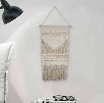 Simple Macrame Wall Hanging by Bungalow Rose