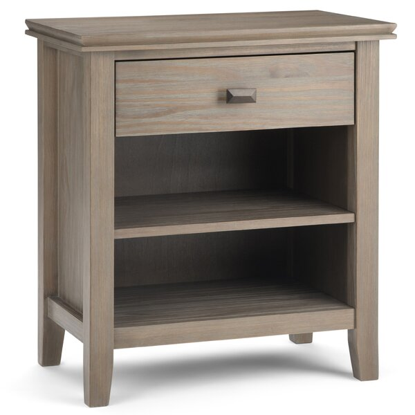Gosport 1 Drawer Nightstand by Three Posts