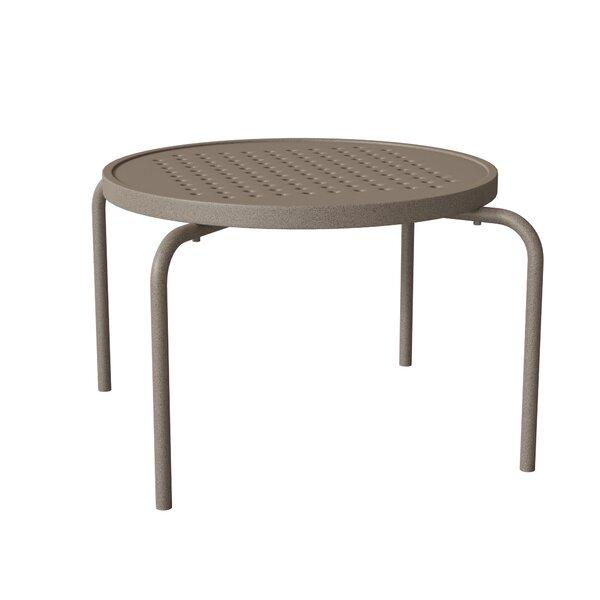 Boulevard Metal Side Table by Tropitone
