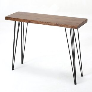 Affordable Strope Industrial Dining Table ByWrought Studio