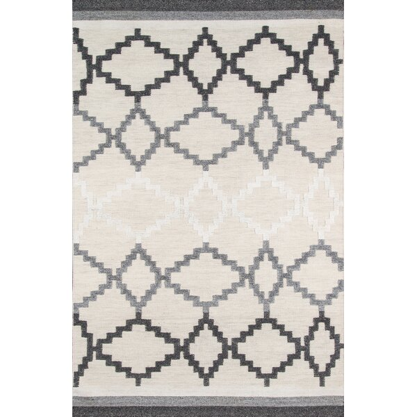 Middleborough Hand-Woven Gray Area Rug by Loon Peak