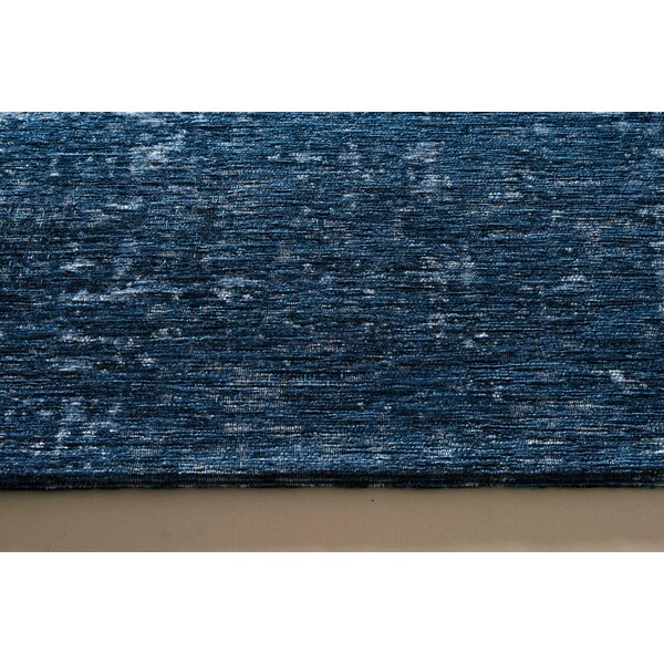 Oakfield Deep Blue Area Rug by Longshore Tides