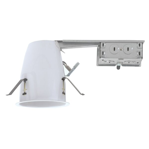 Line-Voltage Remodel Airtight Recessed Housing by NICOR Lighting