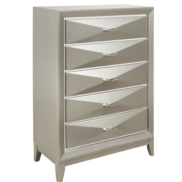 Livermore 5 Drawer Chest by Everly Quinn