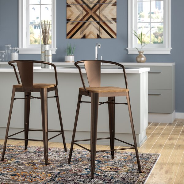 Reedley 25.5 Bar Stool (Set of 2) by Trent Austin Design