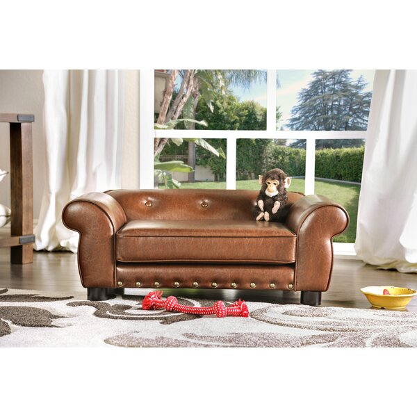 Tramblay Flannelette Dog Sofa by Enitial Lab