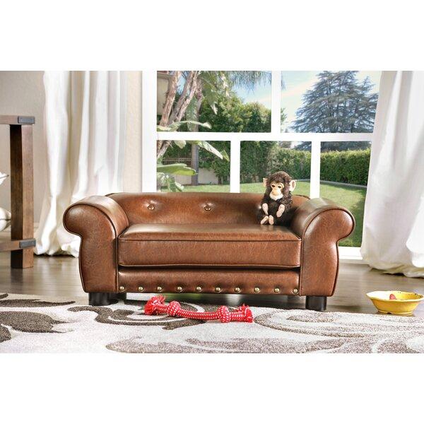Tramblay Flannelette Dog Sofa by Enitial Lab