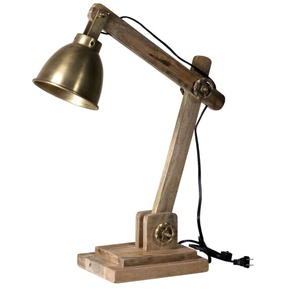 Sergey 17.75 Desk Lamp by Gracie Oaks