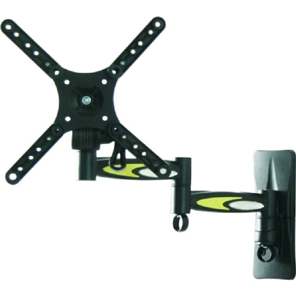 TygerClaw Full Motion Universal Wall Mount for 10-32 Flat Panel Screens by Homevision Technology