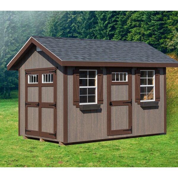 Riverside 8 ft. W x 12 ft. D Wood Storage Shed by EZ-Fit Sheds