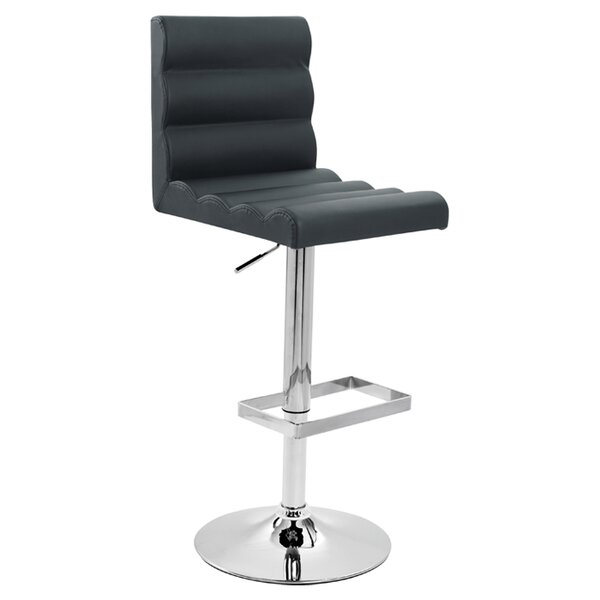Adjustable Height Swivel Bar Stool (Set of 2) by Creative Images International