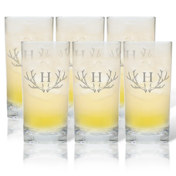 Maximo 15.25 oz. Highball Glass (Set of 6) by Union Rustic