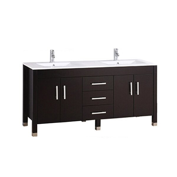 Predmore Modern 60 Double Bathroom Vanity Set by Orren Ellis