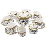 15 Pieces Porcelain Tea Sets British Royal Series, Vintage Pattern China Coffee Set,Tea Service For Adults