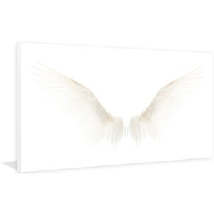 'White Wings' Painting Print on Wrapped Canvas by Marmont HIll